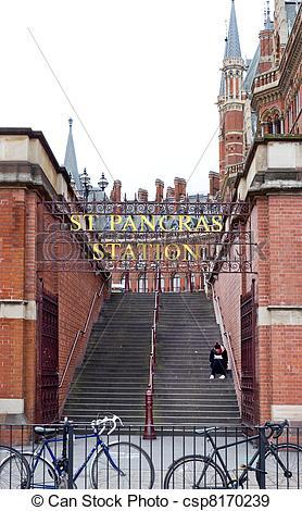 Stock Photographs of St pancras.