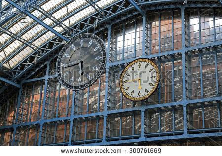 St Pancras Stock Photos, Royalty.