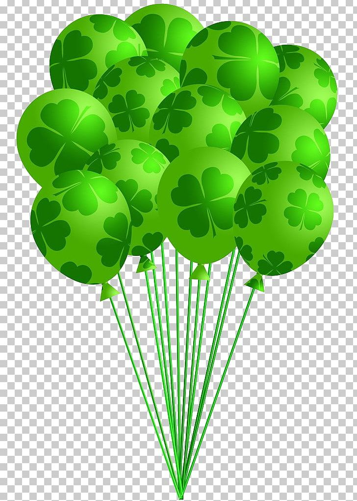 Saint Patrick\'s Day Shamrock Balloon PNG, Clipart, Air.