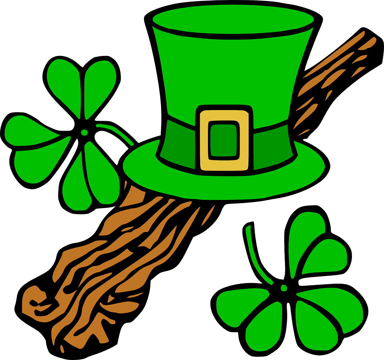 st patrick\'s day border png.
