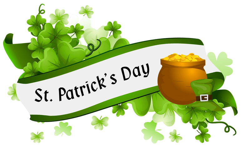 St Patrick\'s Day Banner transparent PNG.