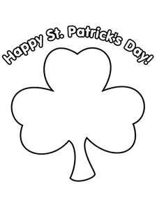 St patricks day clipart black and white 2 » Clipart Station.