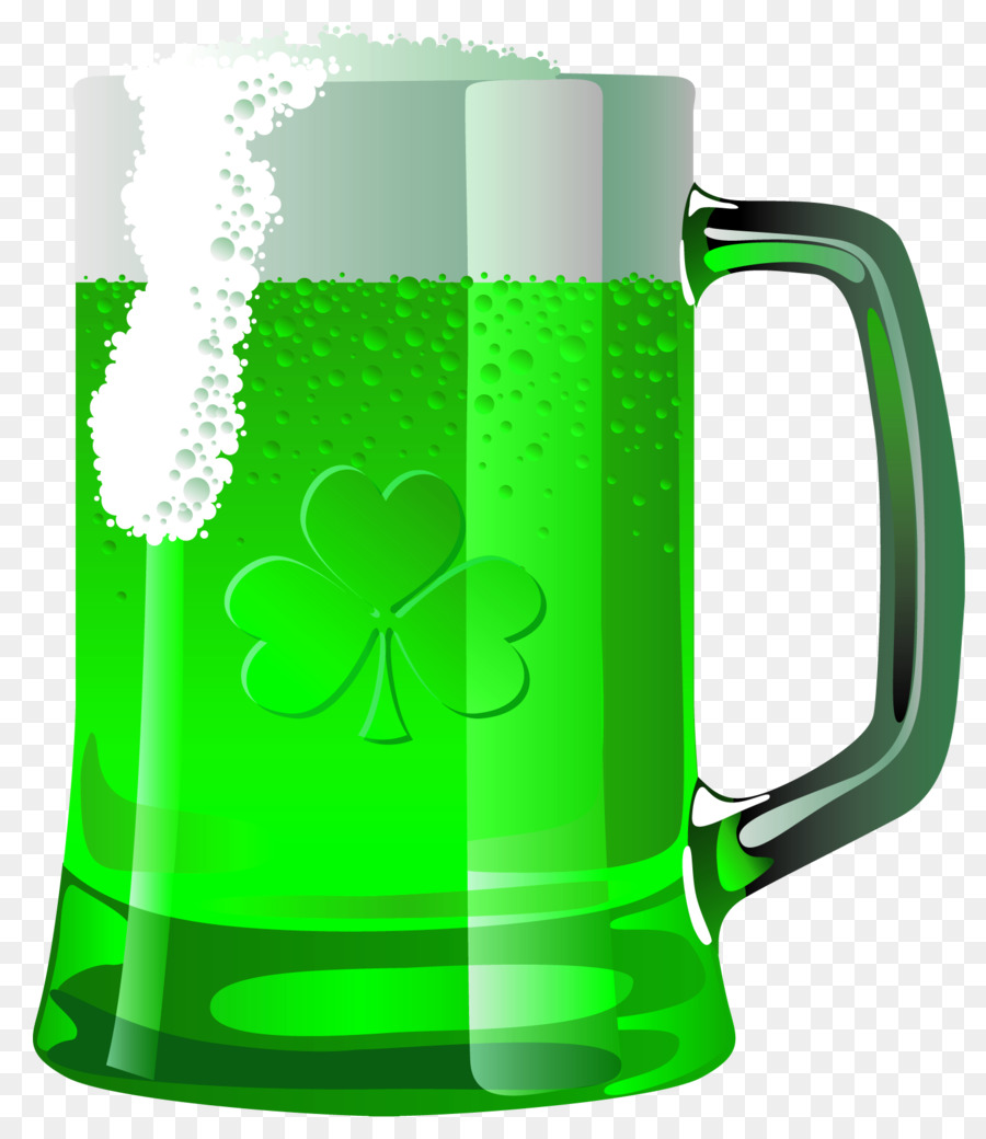 Beer Glasses Saint Patrick\'s Day Clip art.