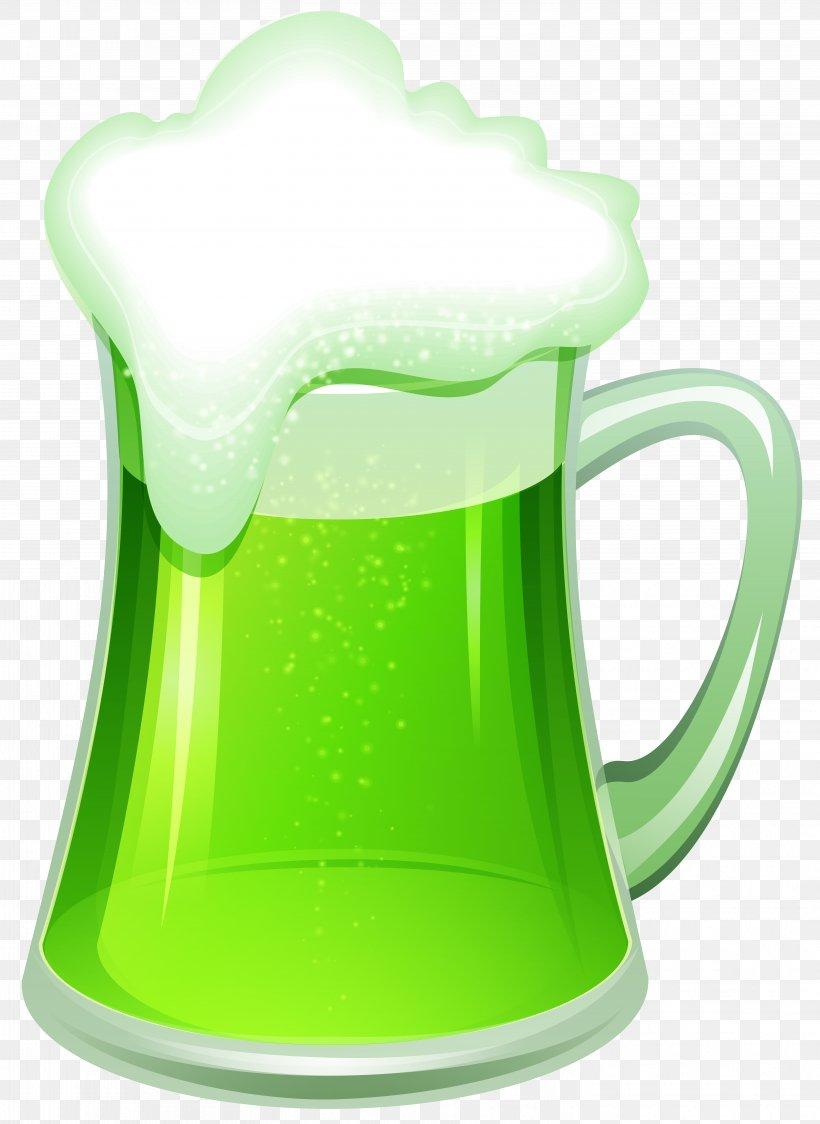 Beer Saint Patrick\'s Day Shamrock Clip Art, PNG, 5832x8000px.