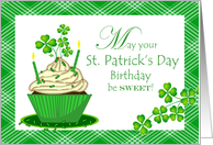 Birthday on St. Patrick\'s Day Cards from Greeting Card Universe.