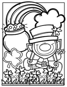 St Patrick Day Clipart Black And White & Free Clip Art.