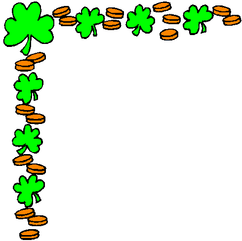 Free St Patricks Day Borders Clipart.