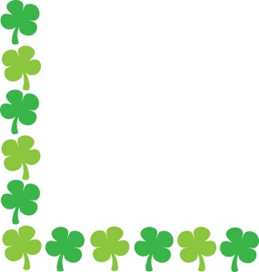 Free St Patricks Day Border Clip Art.