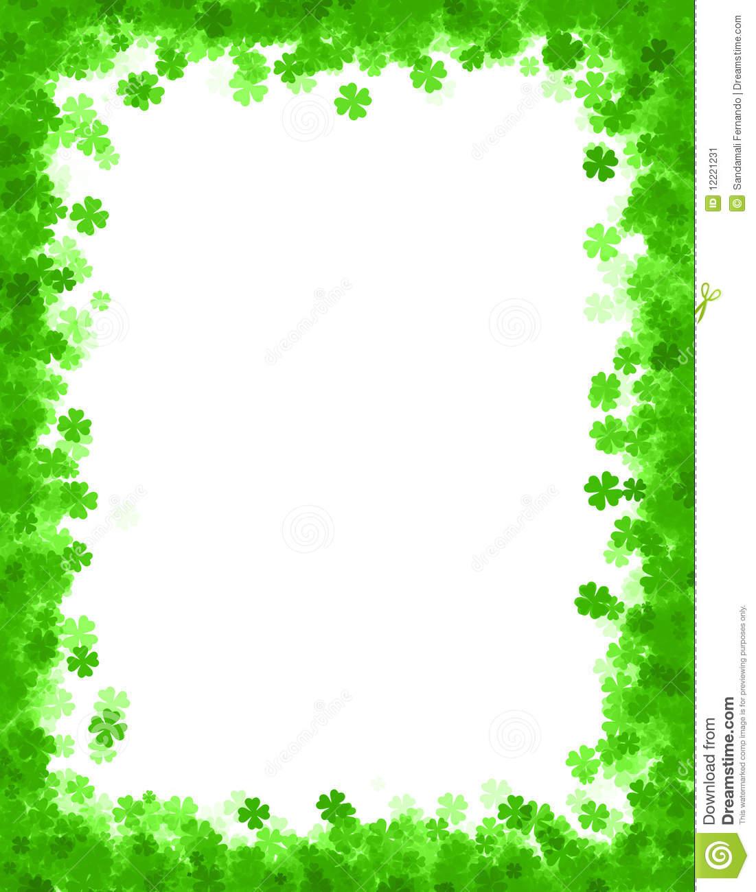 St Patricks Day Border Clipart Clipground