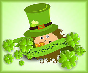 Free St. Patrick\'s Day Animations.