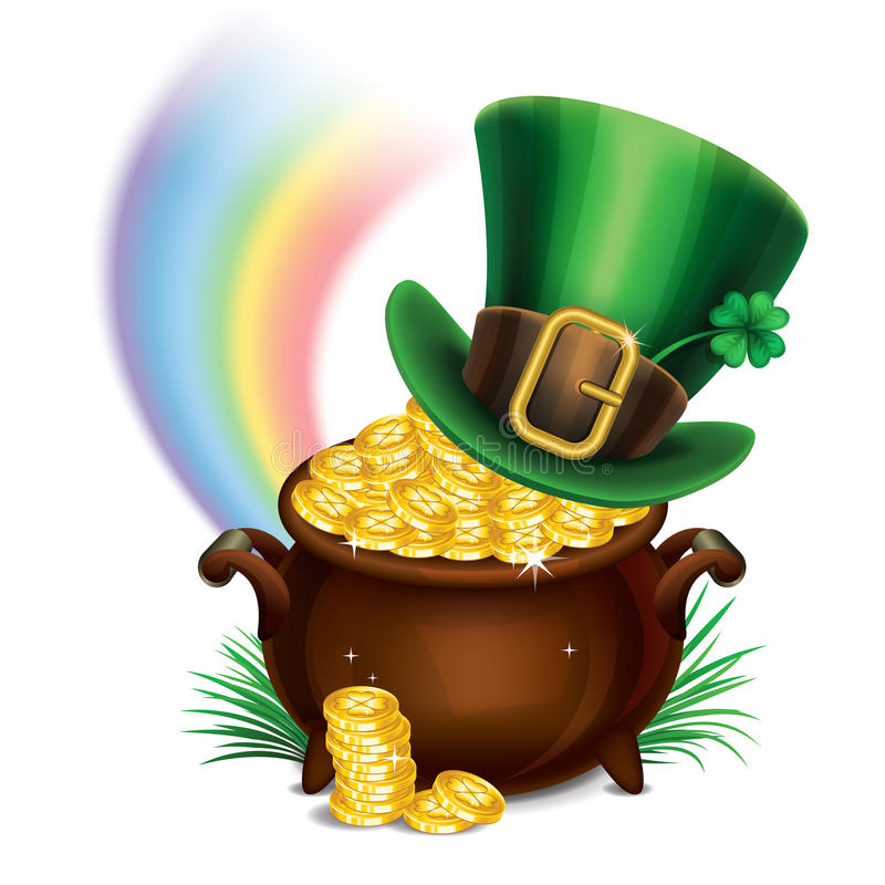 874 Pot Of Gold free clipart.