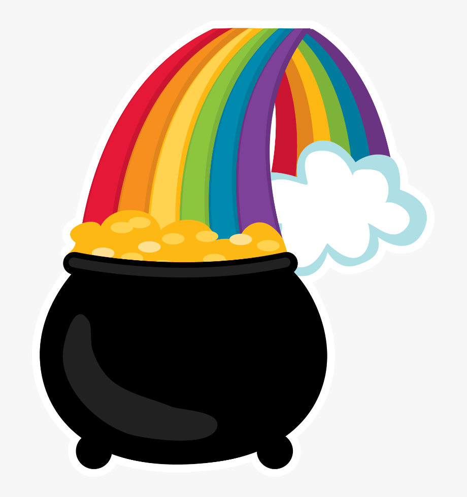 Pot Of Gold * St Patricks Day Clipart, Face Paintings,.