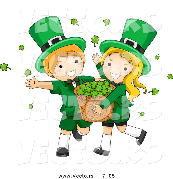 Showing post & media for Cartoon girl dancing leprechauns.