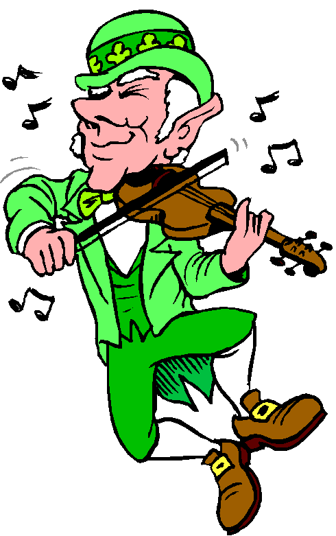 st patricks day dance clipart 20