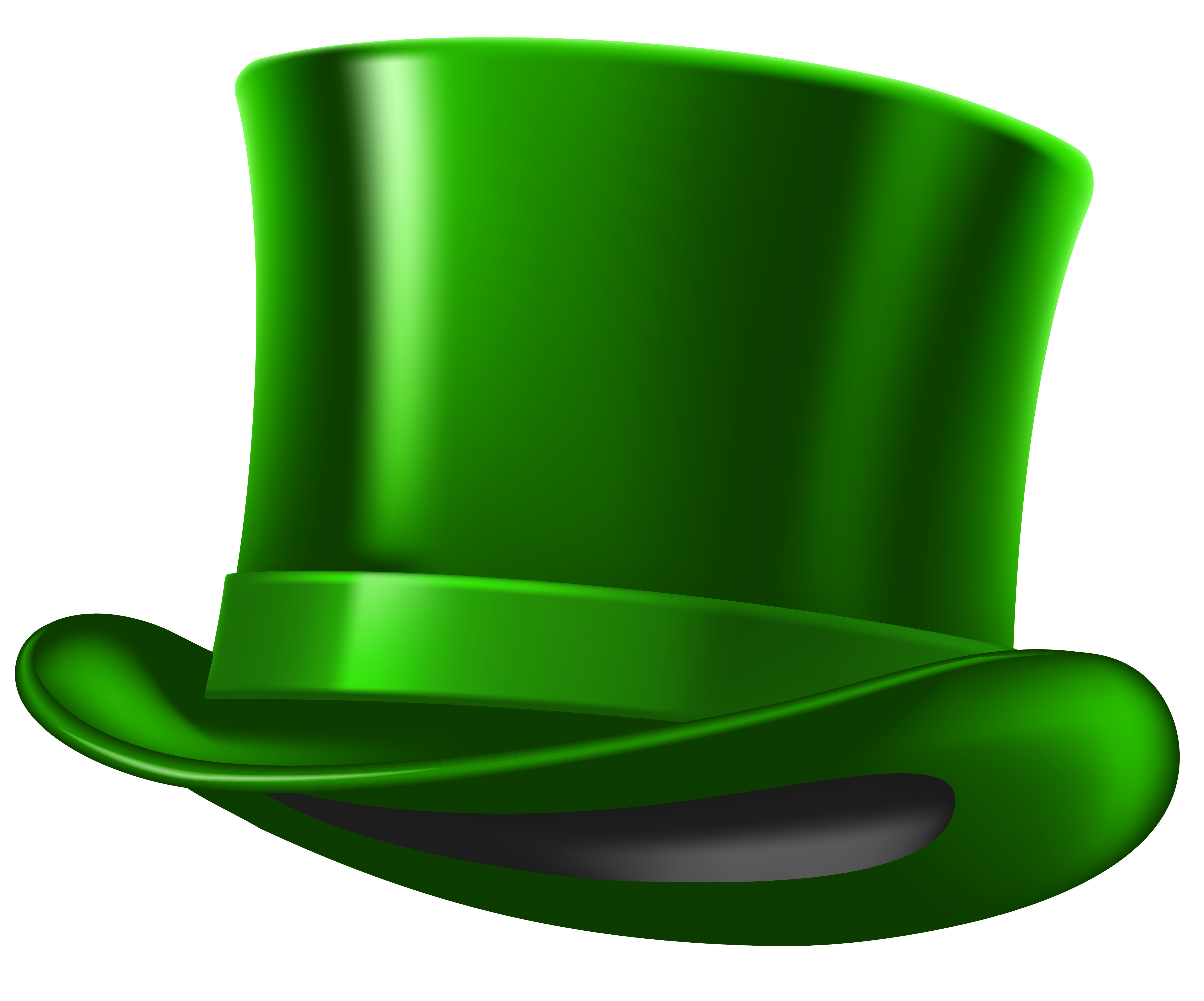 St Patricks Day Hat PNG Clipart Image.