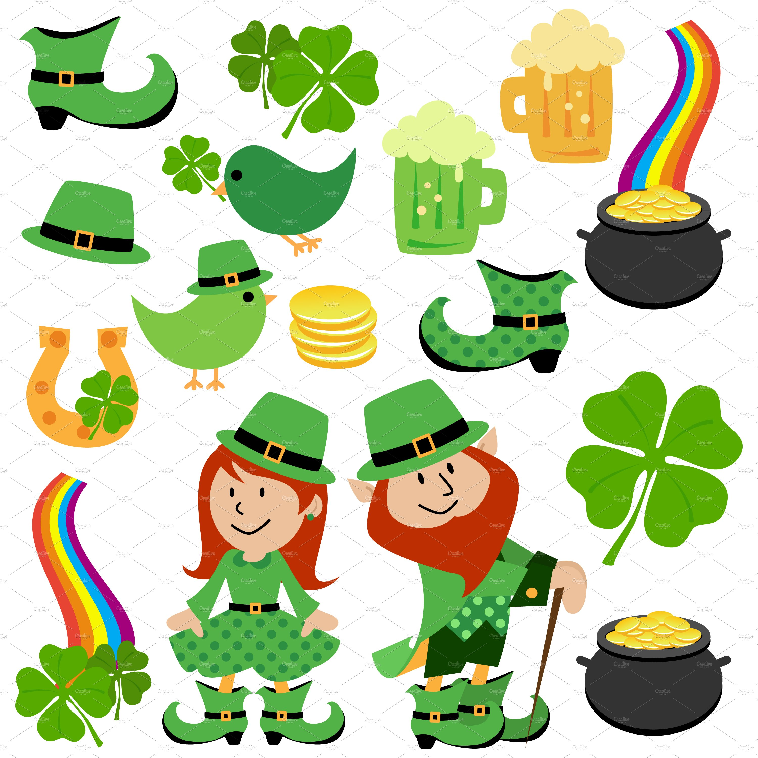 St Patrick\'s Day Vectors and Clipart.