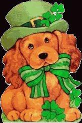 St Patricks Day Rat Clipart.