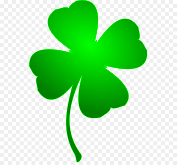 Ireland Saint Patricks Day Shamrock Four.