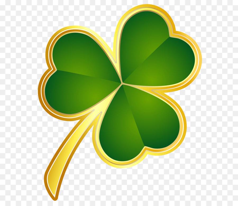 Republic of Ireland Shamrock Saint Patrick\'s Day.