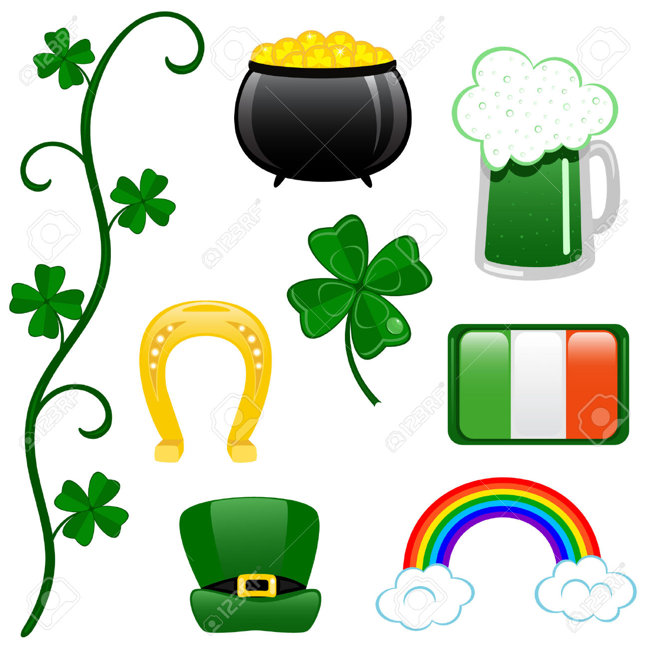 Snoopy St Patricks Day Clipart.