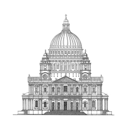 St Pauls Cathedral Clip Art, Vector Images & Illustrations.