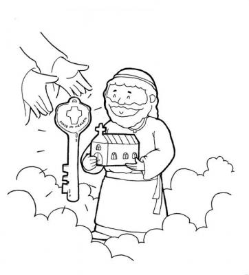 St peter clipart.