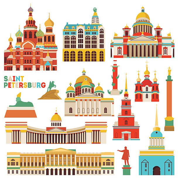 St. Petersburg Russia Clip Art, Vector Images & Illustrations.