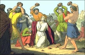 Stoning Of Saint Stephen Clip Art Download.