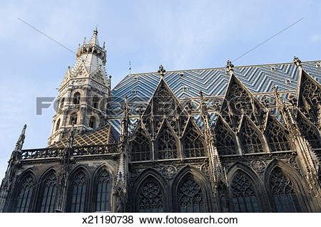 Pictures of Austria, Vienna, St. Stephen's Cathedral, x21190738.