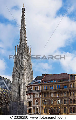 Stock Photography of St. Stephen's Cathedral k12328250.