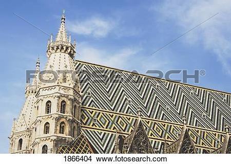 Stock Photo of st. stephen's cathedral, vienna, austria 1866404.