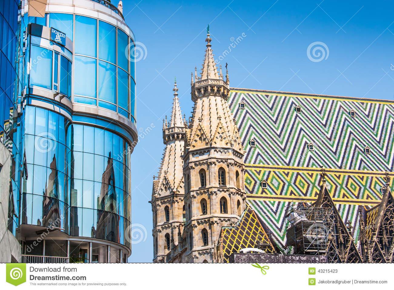 St. Stephen's Cathedral, Vienna, Austria Stock Photo.