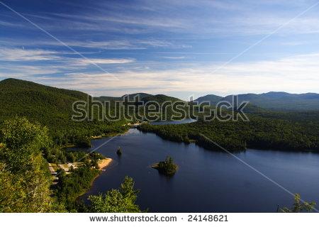 Quebec Wilderness: Lac Monroe In Mont.
