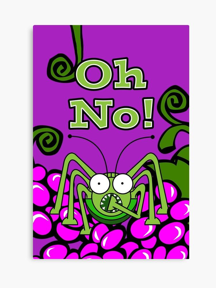 Oh No! It\'s St. Urho\'s Day Again, Grasshopper Gasp.