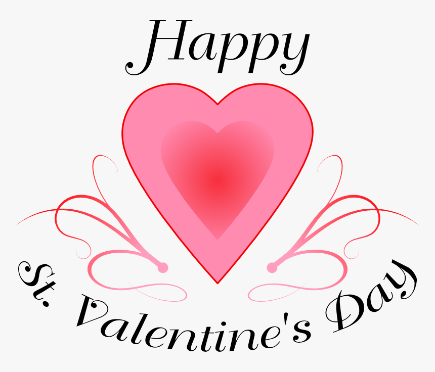 Clip Art Happy St Valentines Day.