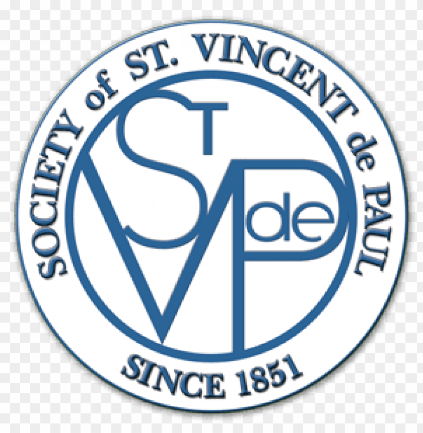 st vincent de paul logo PNG image with transparent.