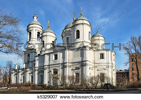 Picture of St. Petersburg. St. Vladimir's Cathedral k5329007.