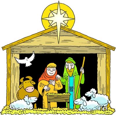 Christmas Manger Clipart#2165407.