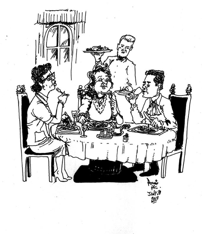 The Scene Cartoon Stabroek News Clipart.