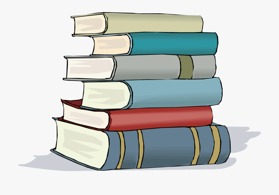 Free Clipart School Books And Featured Illustration.