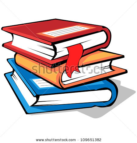 Stack Of Books Icon Stock Images, Royalty.