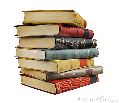 Stack Of Books Stock Photos.
