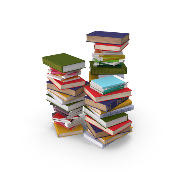 Stacks of Books PNG Images & PSDs for Download.
