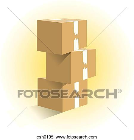 Stack of boxes clipart » Clipart Portal.