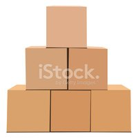 Stack of Boxes stock vectors.