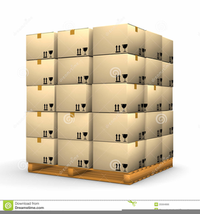 Stack Of Boxes Clipart.
