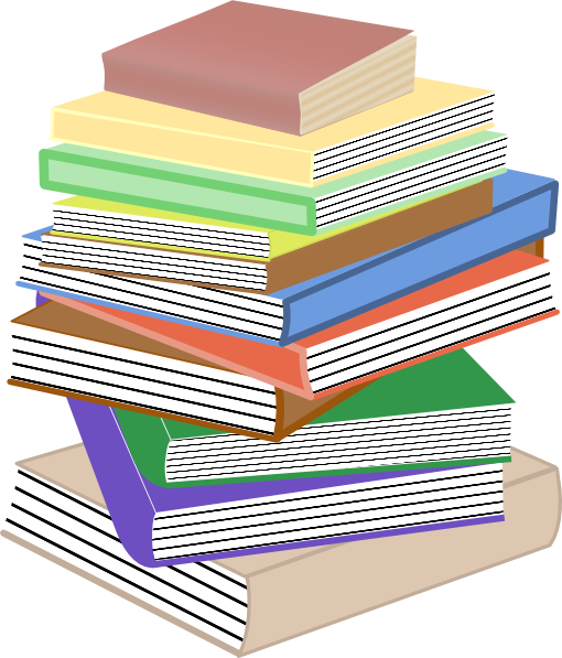 Stack Of Childrens Books Clip Art.
