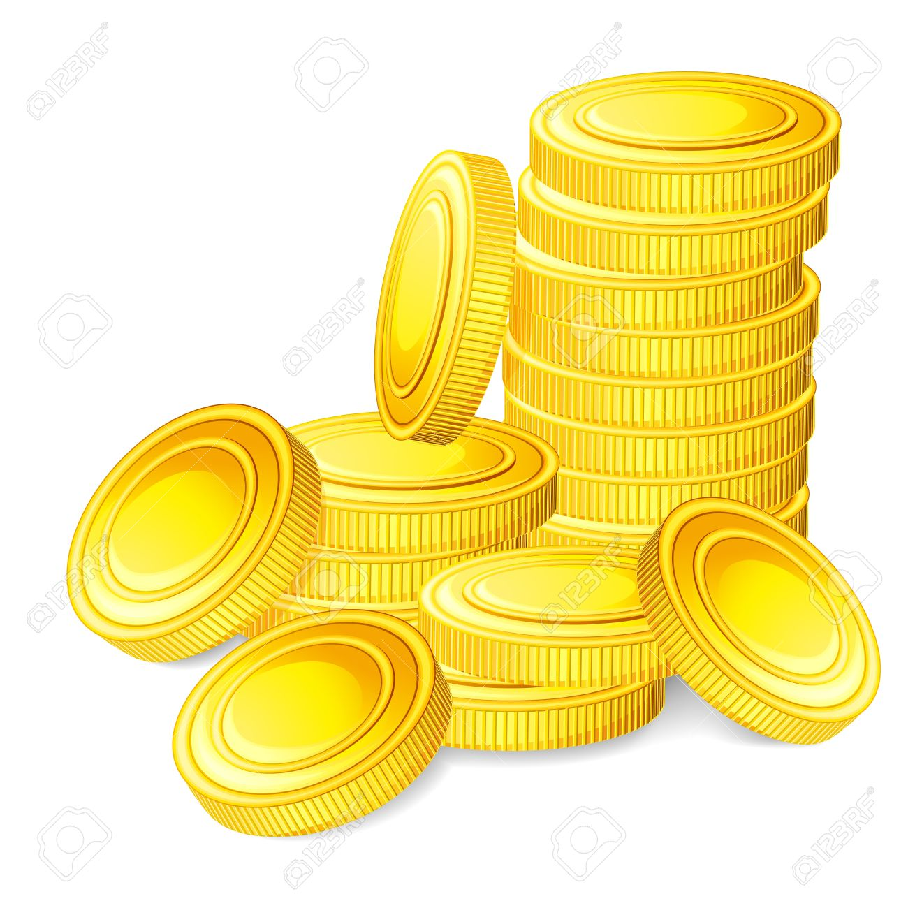 2886 Coin free clipart.