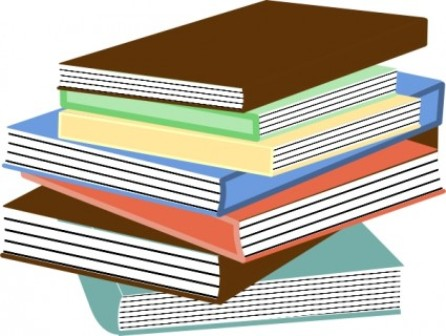 Images: Magazine Stack Clipart.