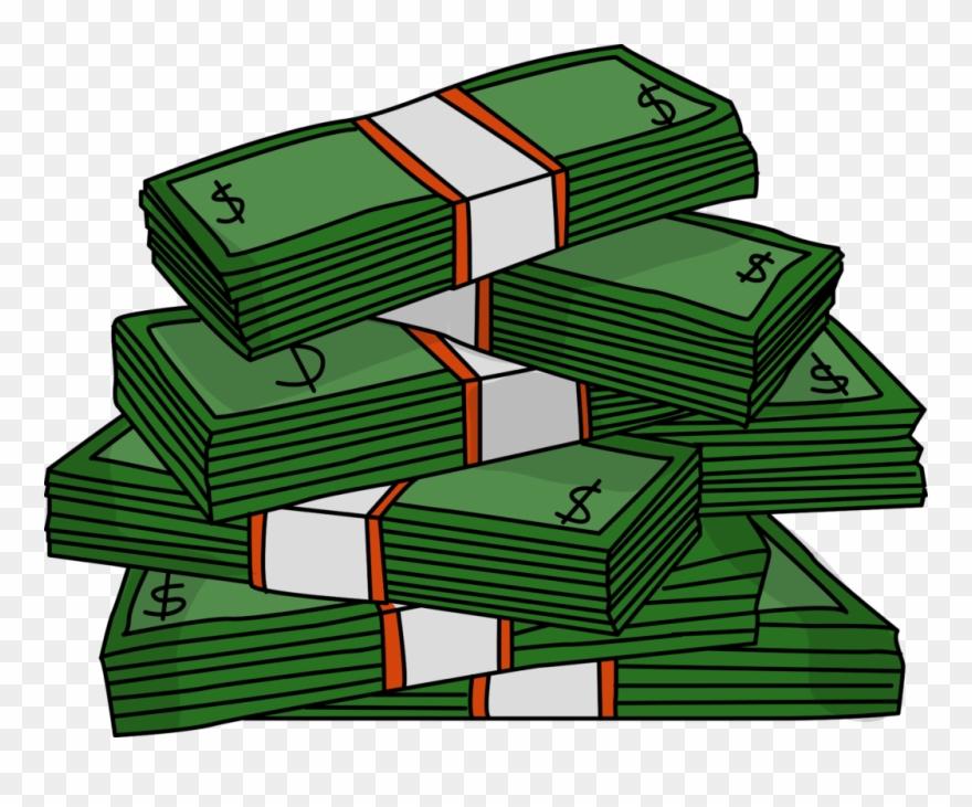 Money Clipart Stack Clip Art Transparent 3448.